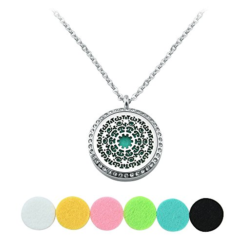 Aromatherapy Perfume Essential Diffuser Necklace product image