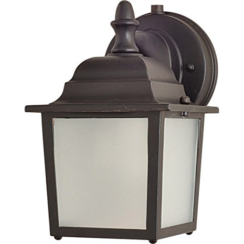 - Maxim Lighting 56924 Side Door LED Outdoor Wall Mount, Empire Bronze Finish, 5.5 by 8.5-Inch