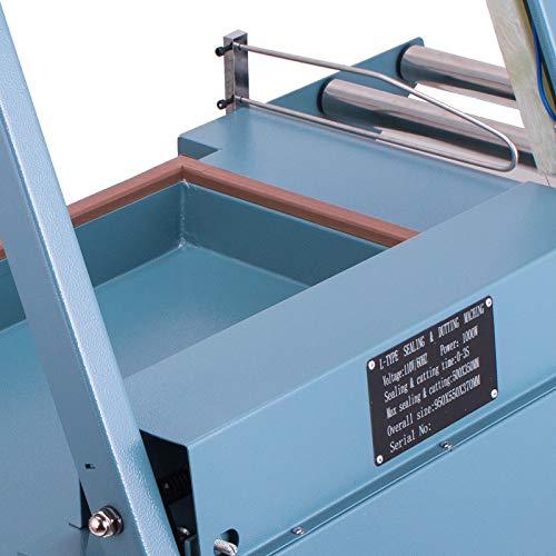 Mophorn FQL-380L L-Bar Sealer 800W L-Bar Shrink Wrap Sealer Cutting Size 20 x 13.8 Inch L-Bar Sealer Machine for Home Commercial Use by Mophorn (Image #5)