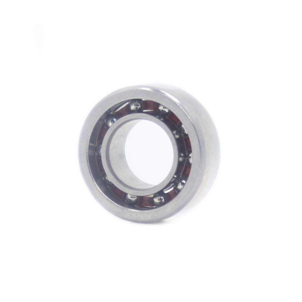 5 PCS 1//4mmx1//2mmx3//16mm Fidget Spinner Bearing with Nylon Caged R188 Open Deep Groove Ball Bearing