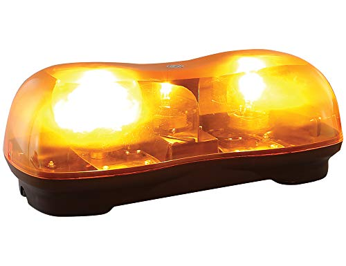 Buyers Products 8891020 Amber Halogen Revolving Light Bar