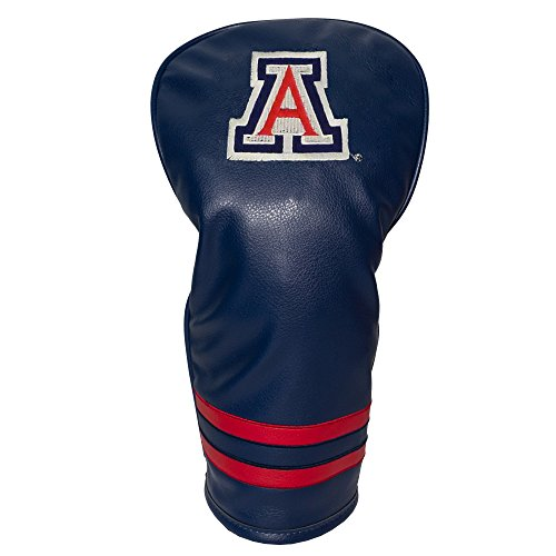 Team Golf NCAA Arizona Wildcats Vintage Driver Golf Club Headcover, Form Fitting Design, Retro Design & Superb Embroidery