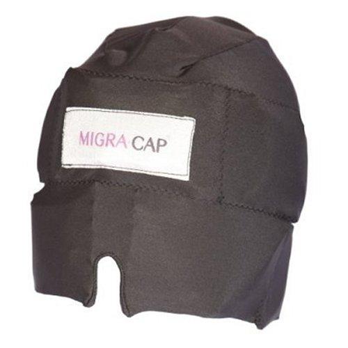 (Migra Cap Migraine Relief Black (One Size Fits All))