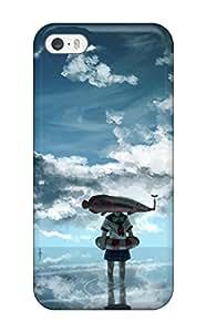 Justin Landes's Shop Hot 8312418K593073935 original animal fish scenic seifuku sky Anime Pop Culture Hard Plastic iPhone 5/5s cases