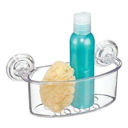 mDesign mensola doccia con ventosa - mensola bagno per doccia o ...