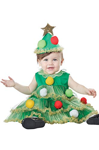 California Costumes Baby-Girls Infant Lil' Christmas Tree, Green, ()