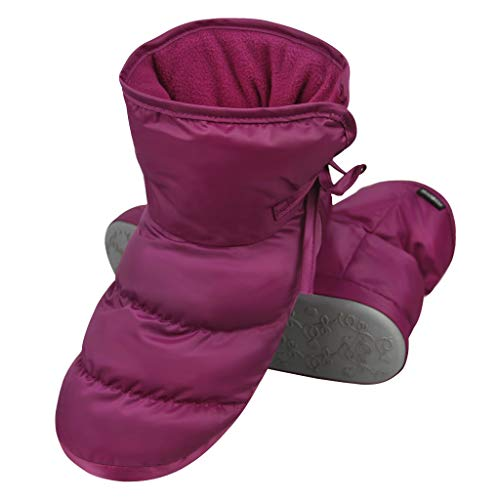 Pictures of Unisex Winter Quilted Down Ankle Bootie House 5