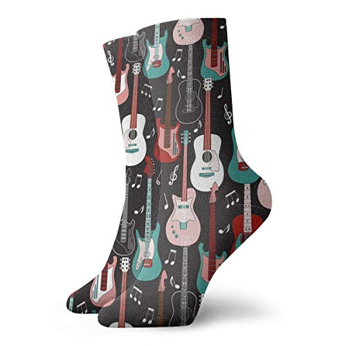 Rock And Roll Ankle Socks Casual Funny For Sports Boot Hiking Running Etc. -