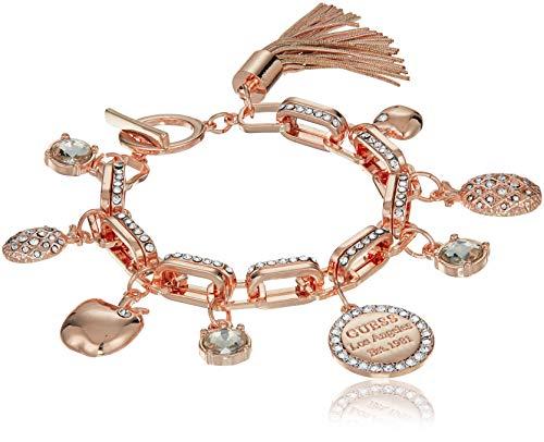 pdate Link Charm Bracelet, Rose Gold ()
