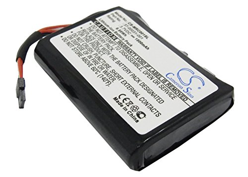 Battery for Magellan 2500T, 1800mAh / 6,7Wh, 3,7V, Li-Ion, black (Ion Magellan Li Battery)