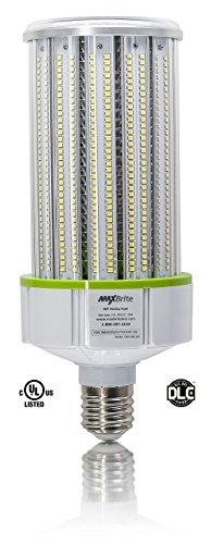 120W LED CORN LIGHT BULB 5000K Replaces 800W, 13,800 lumens Mogul Base E39, 100-277V AC UL/cUL DLC by MaxBrite