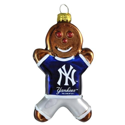 - MLB New York Yankees Gingerbread Ornament