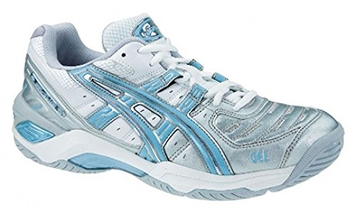 Chaussures Gel White Silver Asics Game Blue wxBqUwZ0r