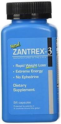 Zoller Zantrex-3, 84 Capsules Zantrex 3 by Zoller