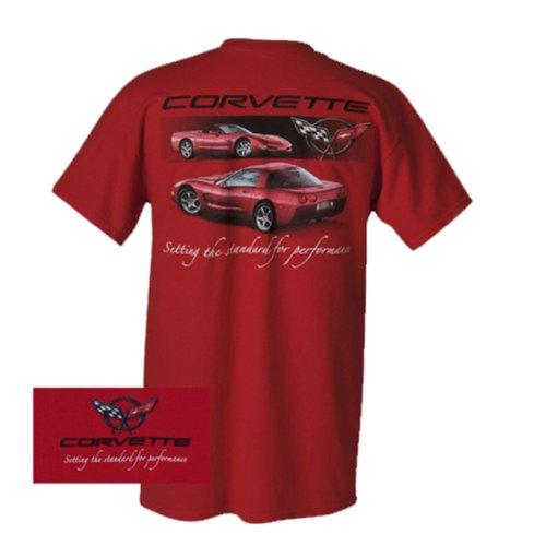 Joe Blow Men's Corvette C5 Setting the Standard Performance T-Shirt