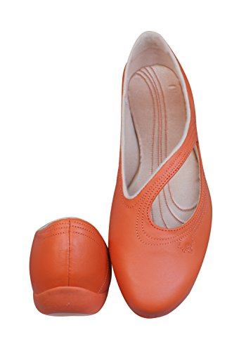 Puma Vitta L Damen Leder Ballerina - rot Red