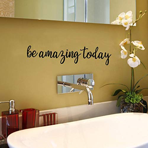 Be Amazing Today Decorative Painting Bedroom Livingroom Tv Wall Decoration Stickers Mural Kids Room - Wall Stickers