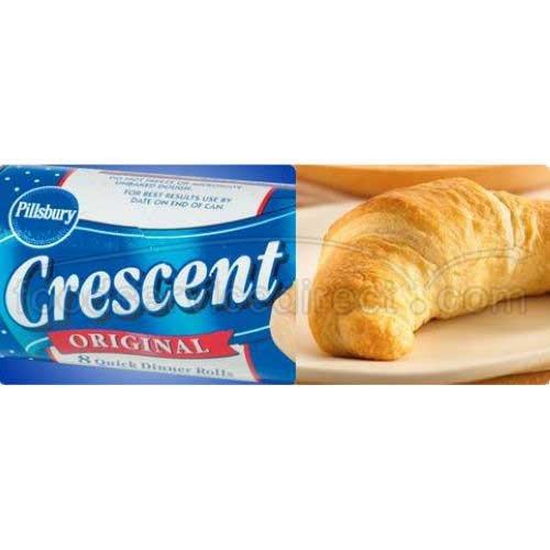 General Mills Pillsbury Crescent Roll, 8 Ounce -- 12 per case.