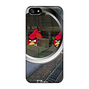 Angry Vs Sniper Cs Case Compatible With Iphone 5/5s/ Hot Protection Case