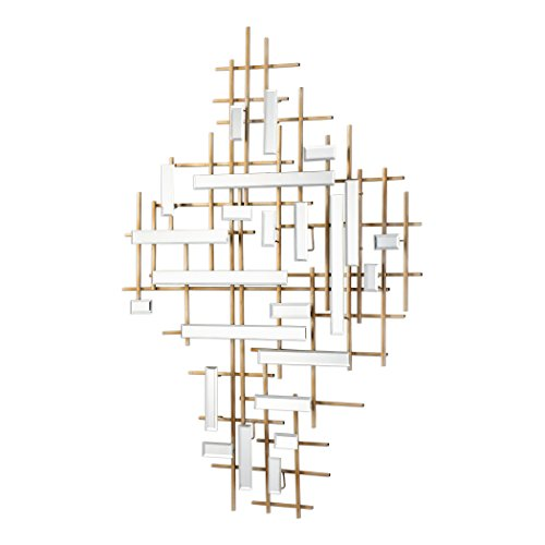 Uttermost Mirrored Wall Art in - Sculpture Apollo Wall