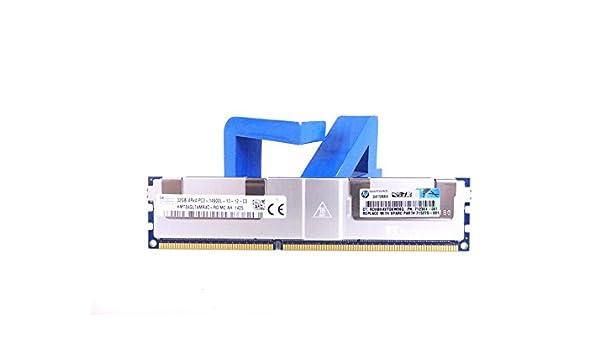 1X32GB 712384-081 HP 32GB 4RX4 PC3-14900L MEMORY MODULE 715275-001 708643-B21