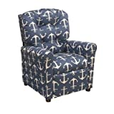 Sailor Kids Recliner Color: Navy