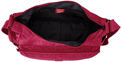 ARTSAC 50023 Scoop Shoulder Bag Schultertasche Fuchsia ekceaj