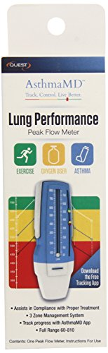 Quest AsthmaMD Lung Performance Peak Flow Meter