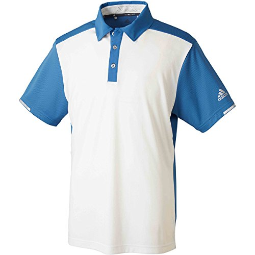 アディダス Adidas 半袖シャツ?ポロシャツ CP CLIMACHILL カラーブロック 半袖ポロシャツ