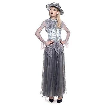 Partilandia Disfraz Fantasma Victoriana Mujer Adulto para ...