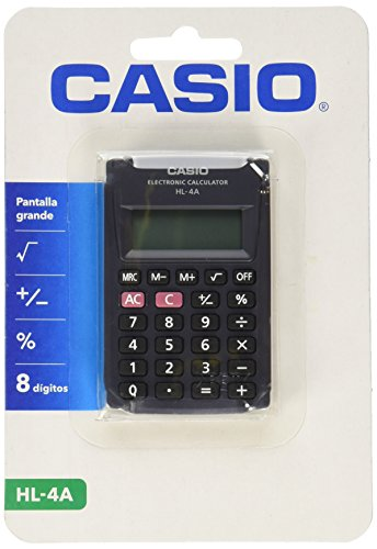 Casio HL-4A-S-MH Calculadora