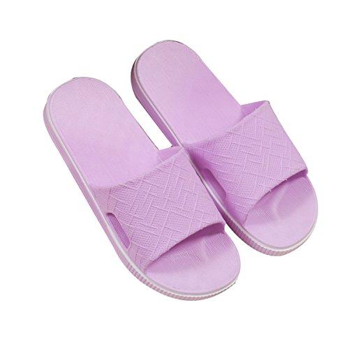 38 En Anti Maison Gros Nouveau En Purple Bain Pink Femme De Maison Pantoufles 41 D'été Pantoufles Plastique Intérieur Pantoufles Pantoufles Mâle slip gw1dxqX