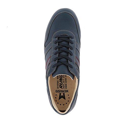 Mephisto Zapatos de cordones para hombre Azul azul
