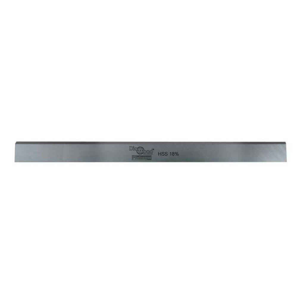 Diamwood Platinum - Fer de dégauchisseuse/raboteuse PRO 200 x 20 x 2.5 mm acier HSS 18% (le fer) - Diamwood Platinum