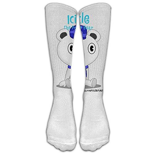 Icicle The Polar Bear Fashion,stylish,comfortable,soft Knee High Unisex Stocking