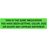 Same Medication - Veterinary Label/Stickers, 500 Labels per roll, 1 roll per Package