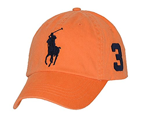 Ralph Lauren Polo Men Big Pony Logo Hat Cap (One Size, Resort (Ralph Lauren Designer Hat)