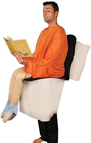 Sitting on Toilet Adult Costume