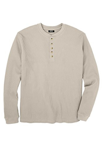 Kingsize Men's Big & Tall Waffle Knit Th - Waffle Knit Henley Shopping Results