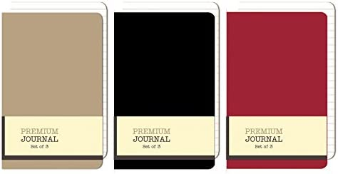 Personal Premium Journals Notepads 3 5in