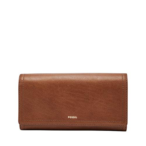 (Fossil Logan RFID Flap Clutch)