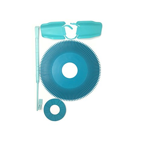 Replacement Pleated Seal Disc Foot Pad Wing Kit Roller Bumper Strap Combo For Kreepy Krauly Pool Cleaner K12896 K12894 - Kreepy Krauly Foot Pad