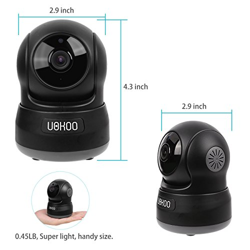 Wireless Security Camera, UOKOO 720P HD Home WiFi Wireless Security Surveillance Camera with Motion Detection Pan/Tilt, 2 Way Audio and Night Vision Baby Monitor, Nanny Cam Wireless Security Camera, UOKOO 720P HD Home WiFi Wireless Security Surveillance Camera with Motion Detection Pan/Tilt, 2 Way Audio and Night Vision Baby Monitor, Nanny Cam 41TSk 2BiEeZL