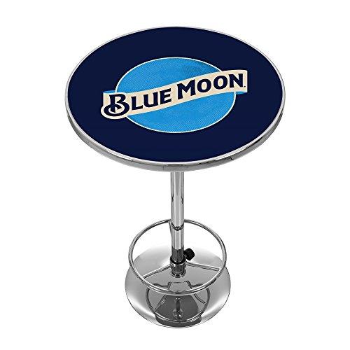 Blue Moon Chrome Pub Table
