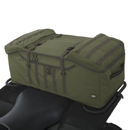 Classic Accessories 15-044-011405-00 QuadGear Olive MOLLE Style Rear Rack ATV Bag (Can Am Rear Atv Rack compare prices)