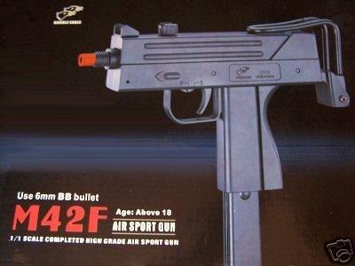 Airsoft Mini Uzi (new double eagle m42f spring 6mm bb airsoft rifle gun mini uzi(Airsoft Gun))