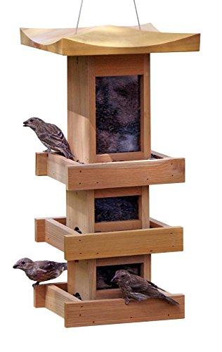 Naturalyards Pagoda Feeder 3 Level Cedar product image