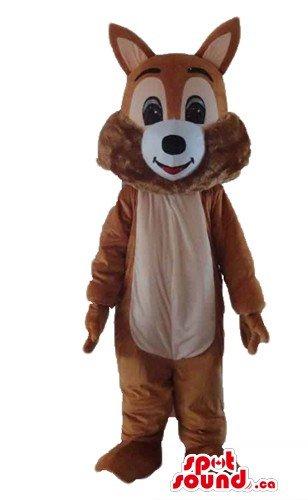 Delux (Brown Squirrel Costume)