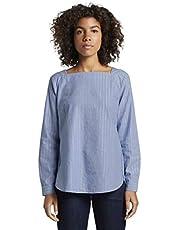 TOM TAILOR für Frauen Blusen, Shirts & Hemden Bluse mit Glitzerfäden