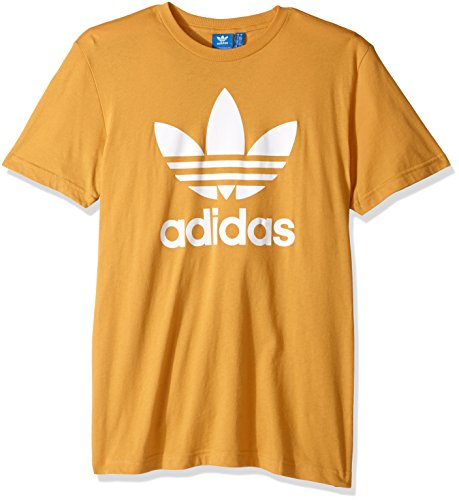 adidas+Originals+Men%27s+Tops+%7C+Trefoil+Tee%2C+Tactile+Yellow%2C+X-Large